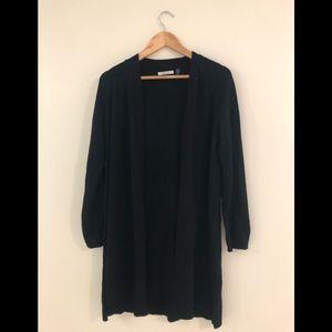 89th & Madison Long Black Sweater